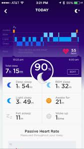 Jawbone UP3 Sleep Tracker App