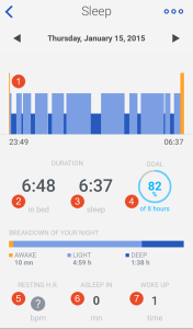 Withings Activite Pop Sleep Tracker App